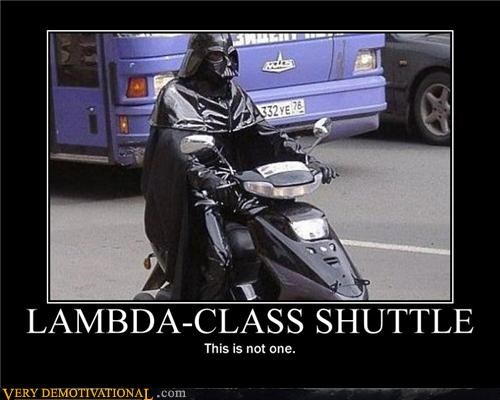 darth vader nerds return of the jedi scooter shuttle star wars - 4263289856