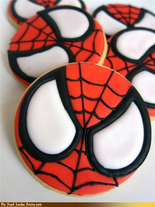 cookies icing Movie Spider-Man