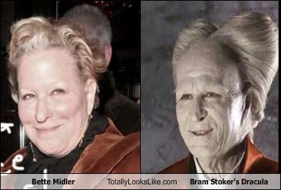 Bette Midler,dracula,Gary Oldman,hair,Hall of Fame