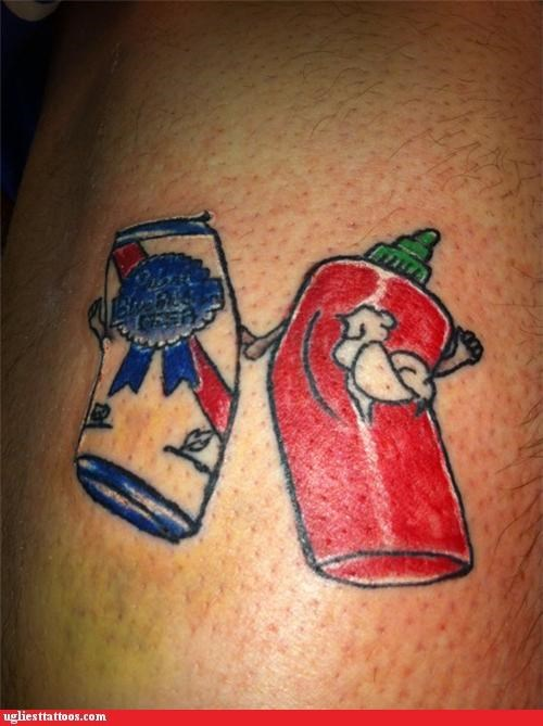 brand loyalty disney drinking fairies food kool aid pbr tattoos with tattoos tinkerbell - 4263642112