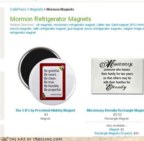 magnet refrigerator mormons - 4264277760