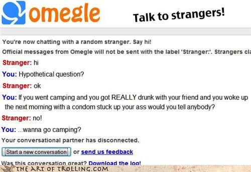 camping,condoms,drunk,Omegle,pitched tents,sexytime,yes-its-a-metaphor-for-erections
