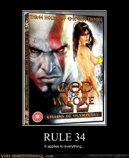 Meme about a real Rule 34 situation proving it is true.