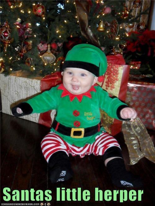 baby derp helper herper santa - 4266713088