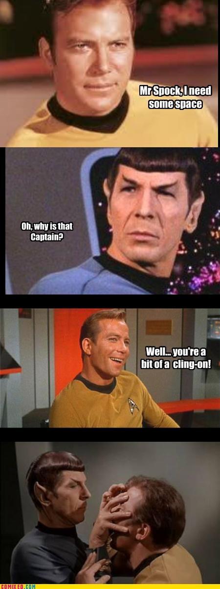 kirk klingon puns Spock Star Trek