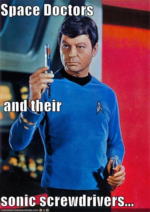 actor celeb DeForest Kelley funny Hall of Fame lolz sci fi Star Trek - 4266846720