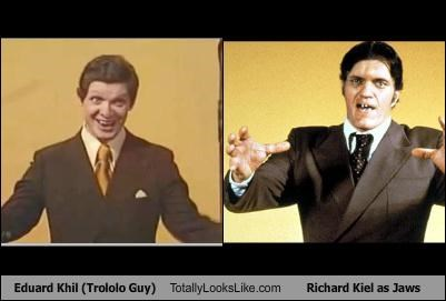 eduard khil,jaws,richard kiel,trololo guy