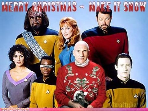 christmas,Hall of Fame,holiday,patrick stewart,sci fi,Star Trek