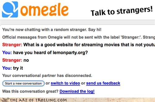 Omegle,lemonparty,chat