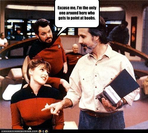 actor celeb funny Jonathan Frakes sci fi Star Trek TV - 4268070400