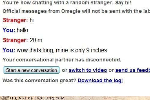 Omegle,peen,length,chat