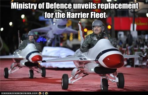Ministry of Defence unveils replacement for the Harrier Fleet