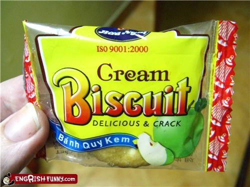 Cream Biscuit - Delicious & Crack