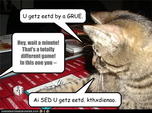 annoyed caption captioned cat contradiction decision dungeons-dragons game hoomin human outcome rules - 4269198080