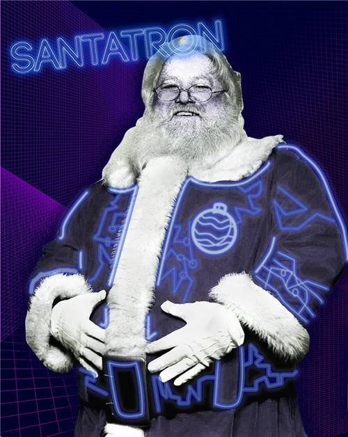 awesome,FTW,santa,tron