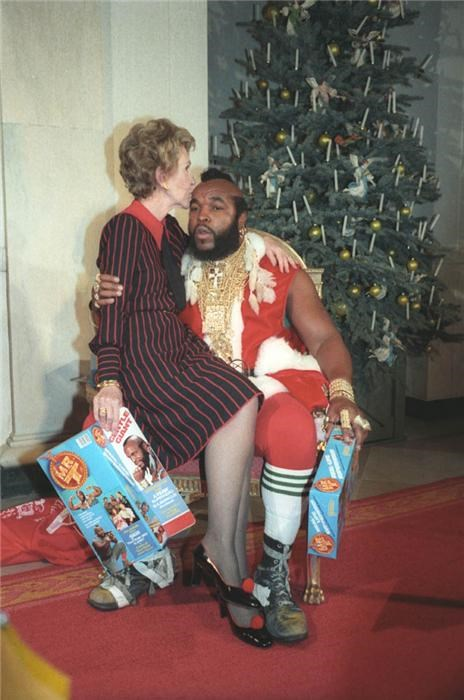 awesome,black santa,First Lady,mr t,pity the fool