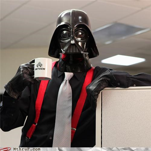 awesome darth vader FTW funny initech star wars - 4269699072