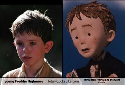 actor freddie highmore james and the giant peach