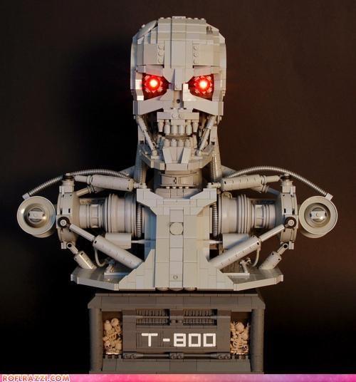 awesome legos terminator - 4270085632