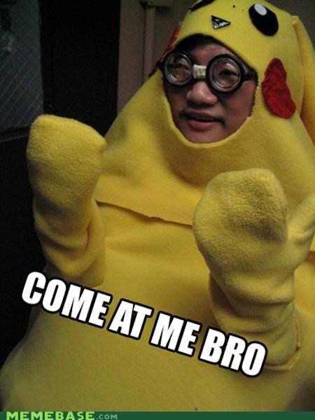 come at me bro,glasses,Memes,nerd,pika pika,pikachu