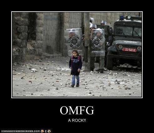 OMFG A ROCK!!