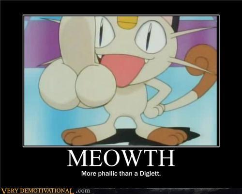 anime diglett Meowth peen phallic Pokémon - 4271902464