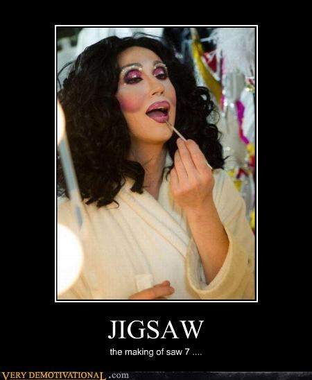cher,horror movies,jigsaw,sad but true,saw,sequels