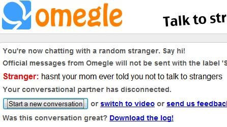 advice mom Omegle she-hasnt strangers - 4272582656