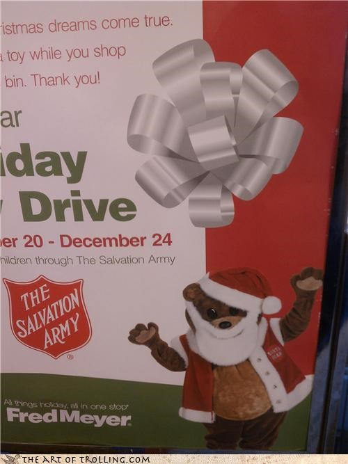 beard,fred meyer,IRL,pedobear,salvation army,santa