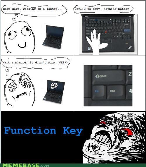 every time function key laptop Rage Comics rage key - 4272621312