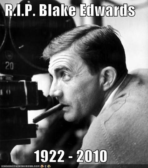 blake edwards,Death,director,pink panther,rip