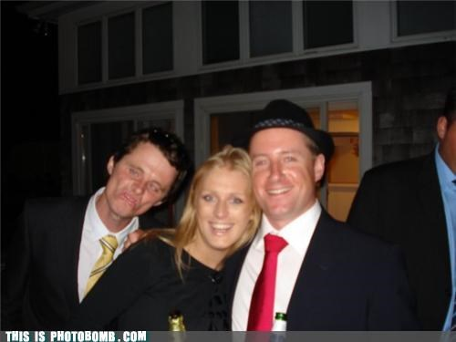 awesome face,dude,formal,hats,photobomb,sour