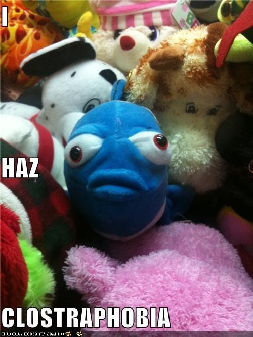 claustrophobia crane machine critters fish toys - 4273192704