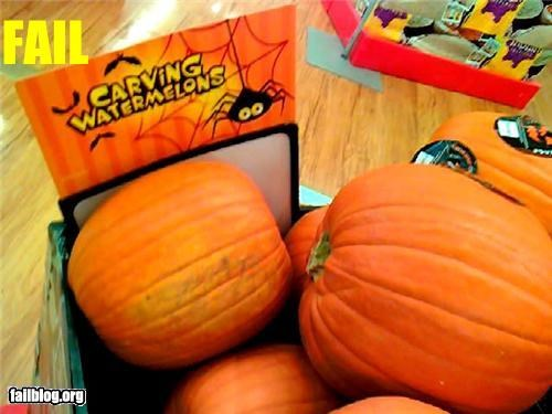 carving classic failboat g rated label pumpkins watermelon - 4274100992