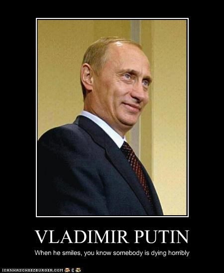 demotivational funny lolz Vladimir Putin vladurday - 4274303744