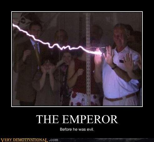 Emperor Palpatine history lightning star wars - 4274883584