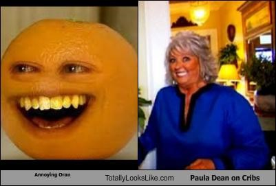 chefs,cribs,mouth,orange,paula deen