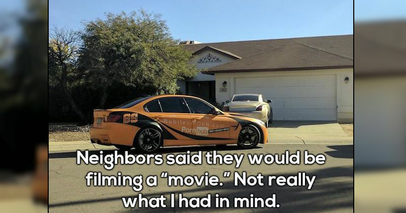 Ridiculous Neighbors That You'll Be Glad Aren't Yours