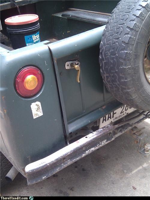 car door good idea handle truck - 4277963008
