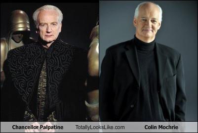 chancellor palpatine colin mochrie Ian McDiarmid palpatine star wars
