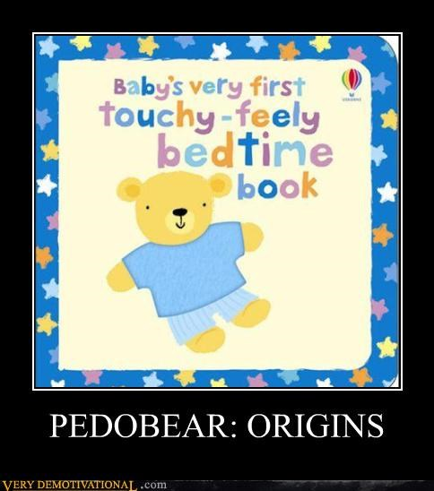 books pedobear sad but true touchy feely wtf - 4279070976