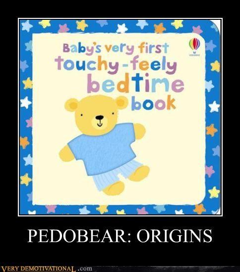 books pedobear sad but true touchy feely wtf - 4279070976