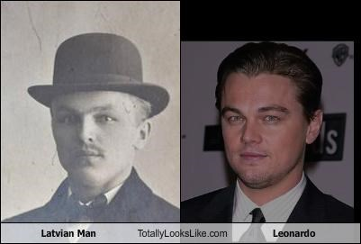 actor latvian man leondardo dicaprio old timey