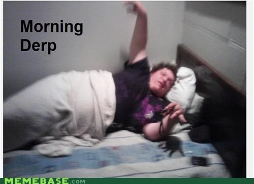 bed,claws,derp,monster,morning,pillows