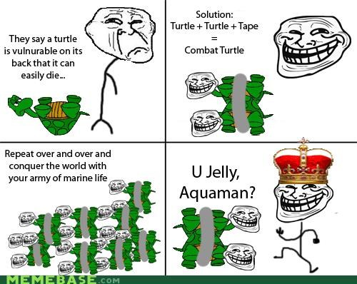 aquaman duct tape troll science turtle - 4279918336