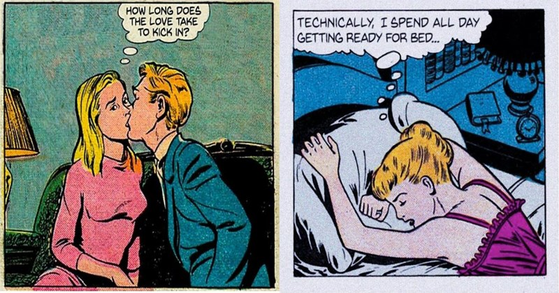 Nihilist, existential vintage comics.