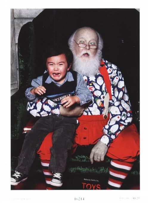 boy,crying,glasses,Hall of Fame,santa,scary,zombie