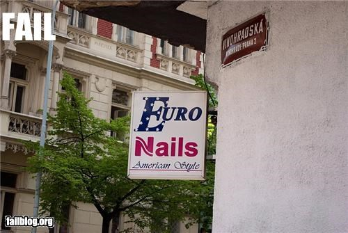 american business confusing european failboat g rated nails sign wait what