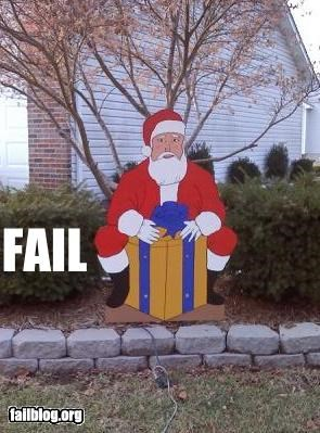 box decoration failboat innuendo junk presents santa Why Do I Live Here - 4280798976