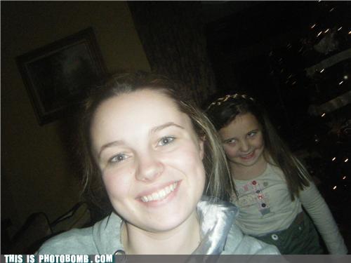 creeper kids little sister photobomb - 4281182208